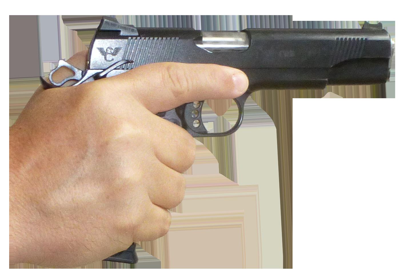 Clipart gun hand gun. In png image mart