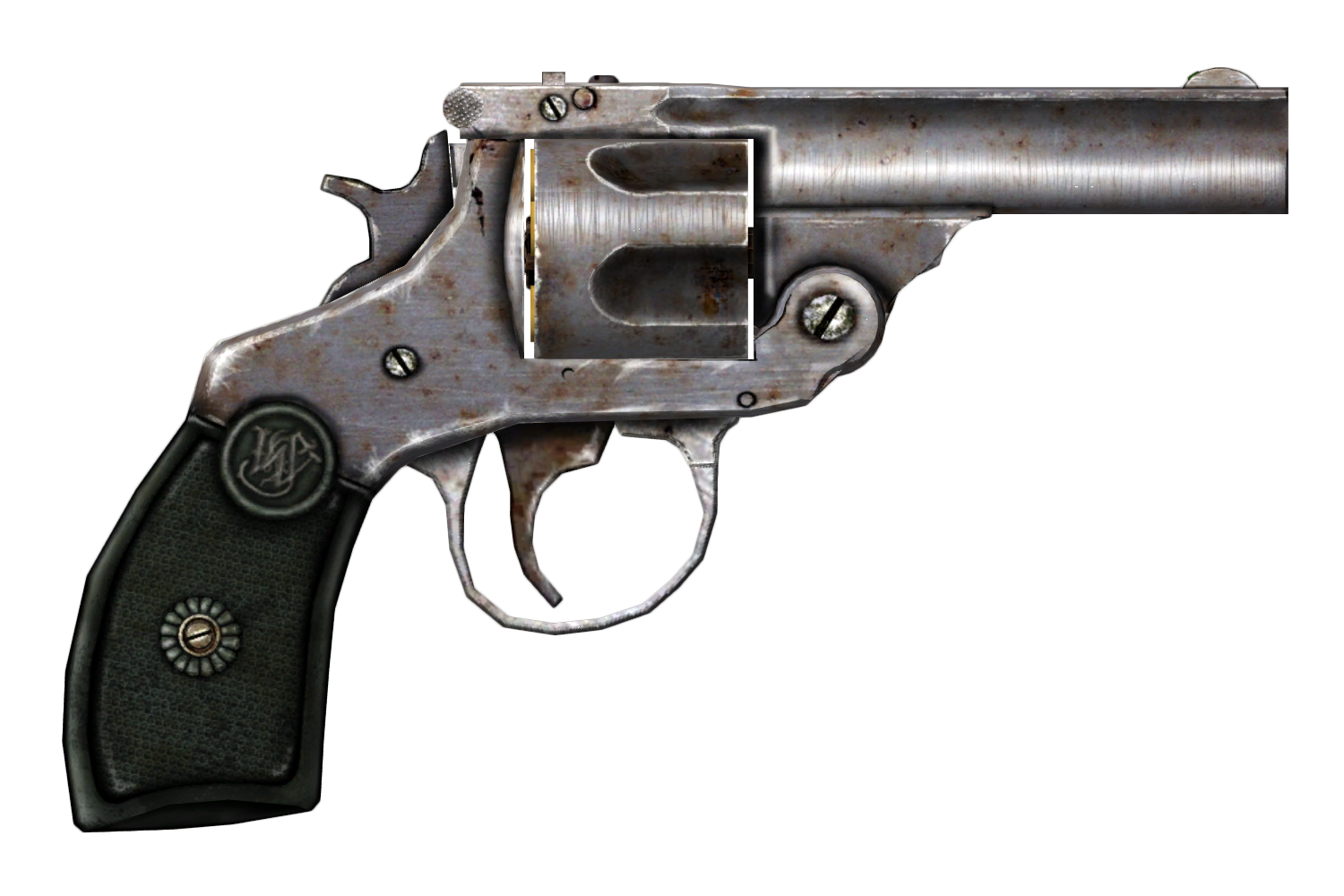 Pistol thirty four isolated. Clipart gun hand gun