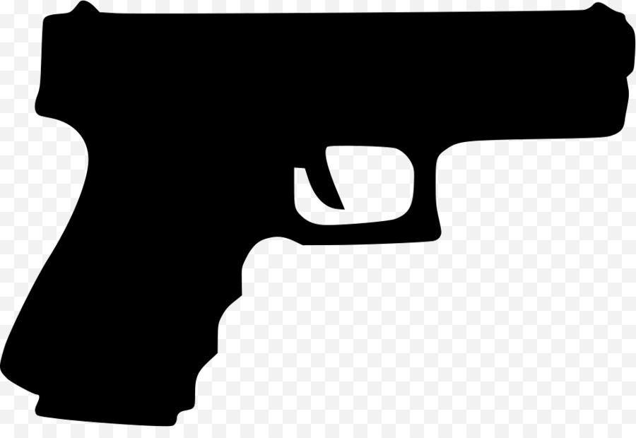 Pistol clipart real gun. Handgun clip art darkhavenmusic