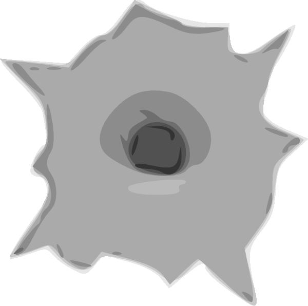 Hole clipart shotgun. Bullet clip art at