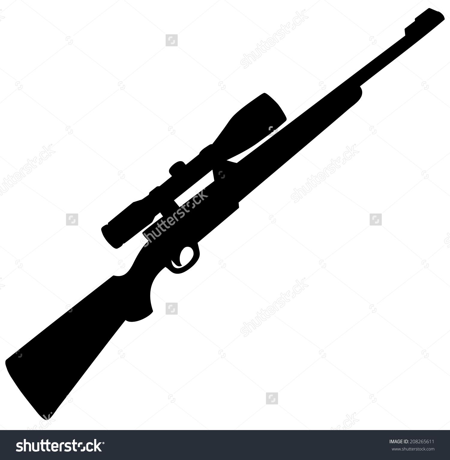 Free rifle cliparts download. Clipart gun hunting gun