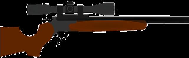 Clipart gun hunting gun. Weapon guns with no