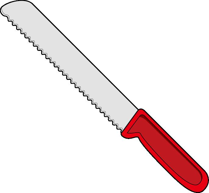 knife clipart bread knife