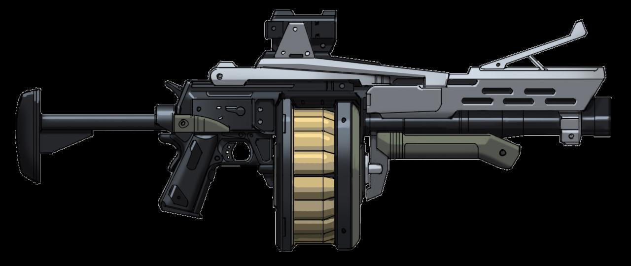 Clipart gun laser. Grenade launcher png image