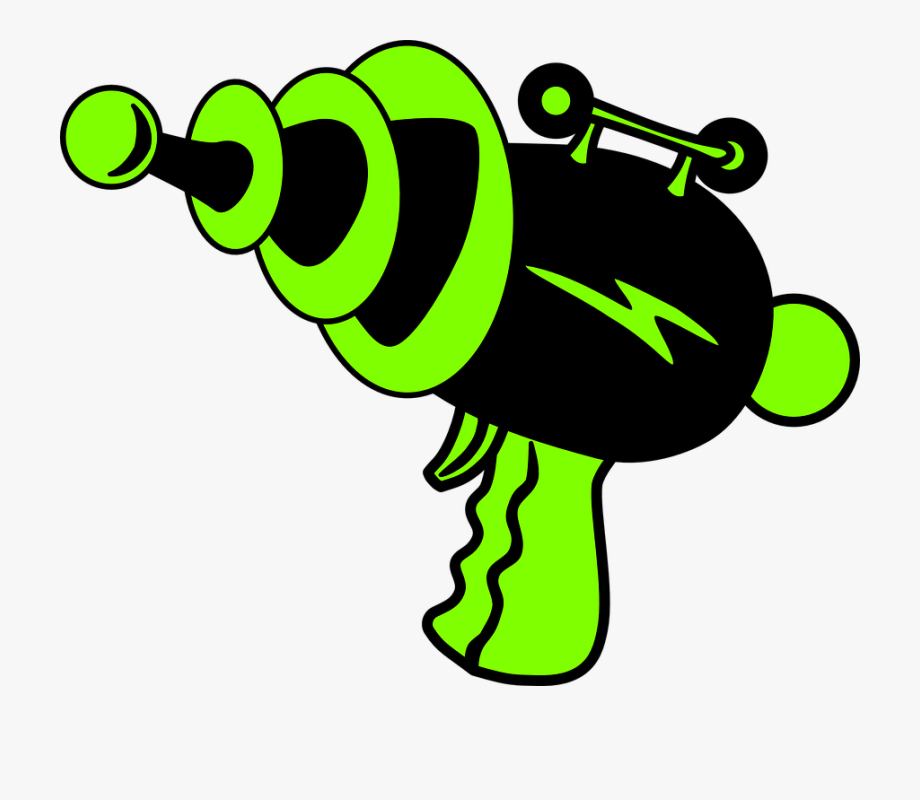 Clipart gun laser. Futurama science fiction tag