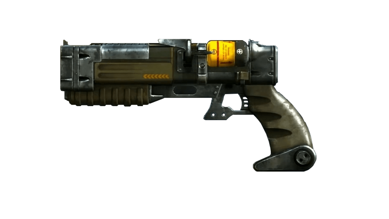 Fallout pistol transparent png. Clipart gun laser