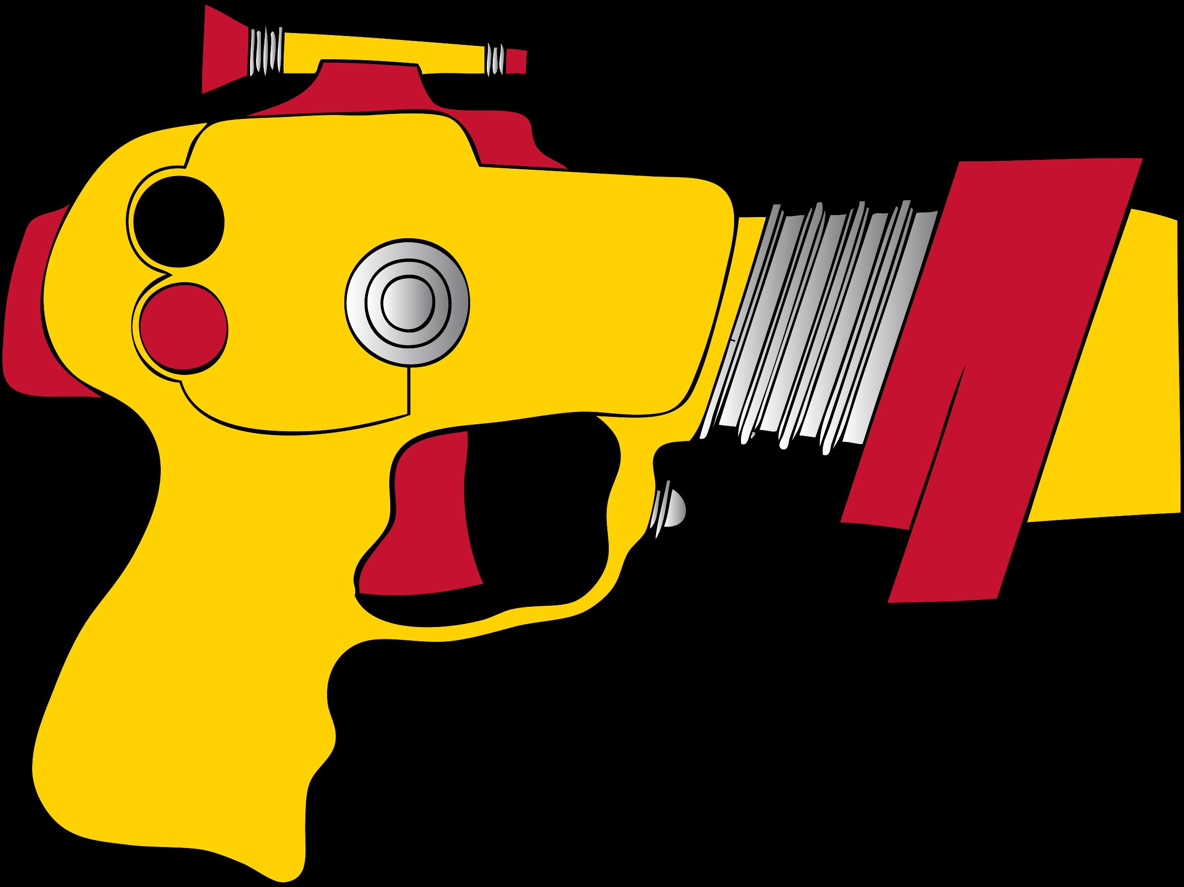 Ray big image png. Clipart gun line art