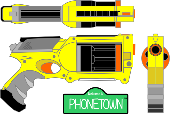 Nerf silhouette at getdrawings. Clipart gun line art