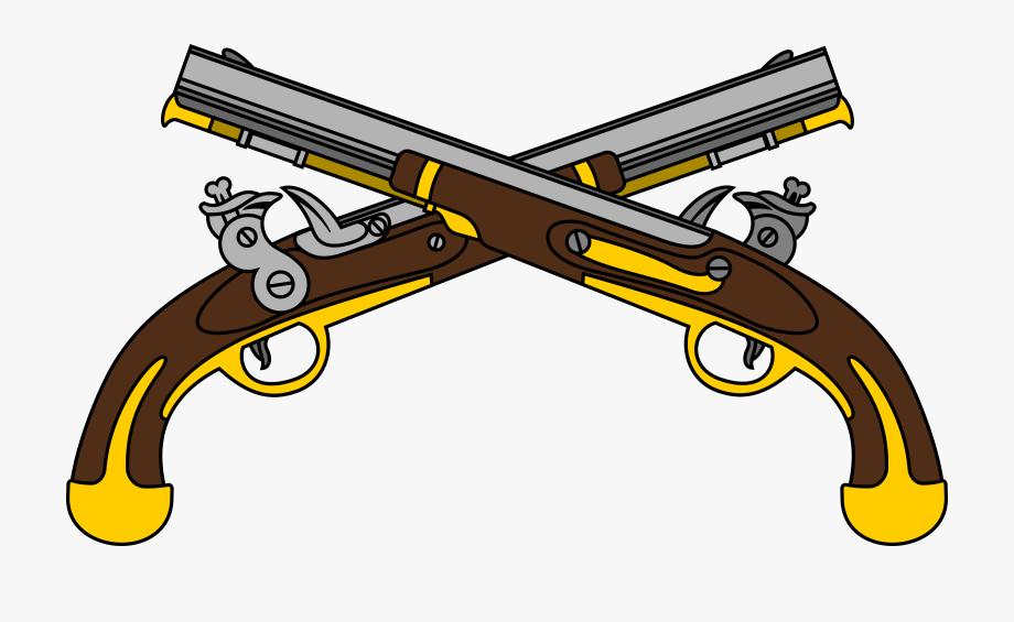 Clipart gun logo. Military police guns free