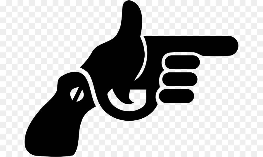 Cartoon design black transparent. Gun clipart logo