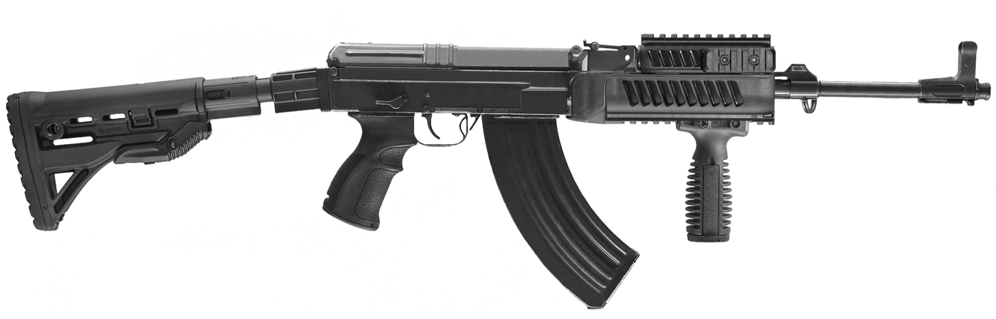 Clipart gun long gun. Assault rifle png images
