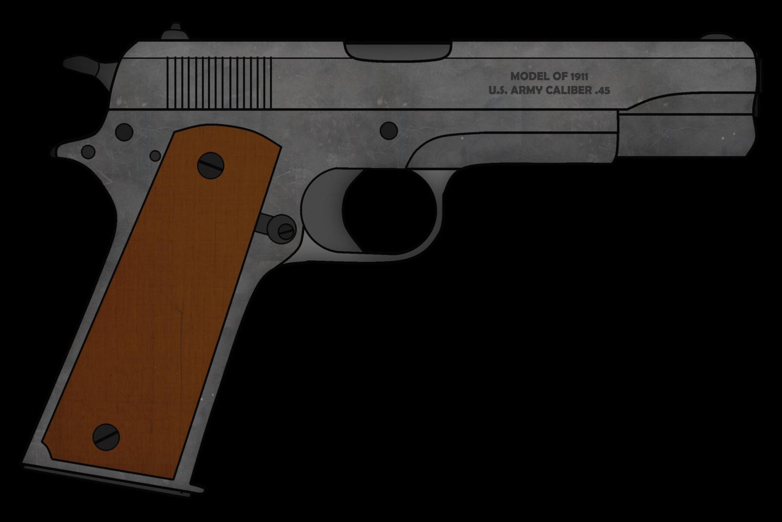 Clipart gun m1911. Colt m by skorpion