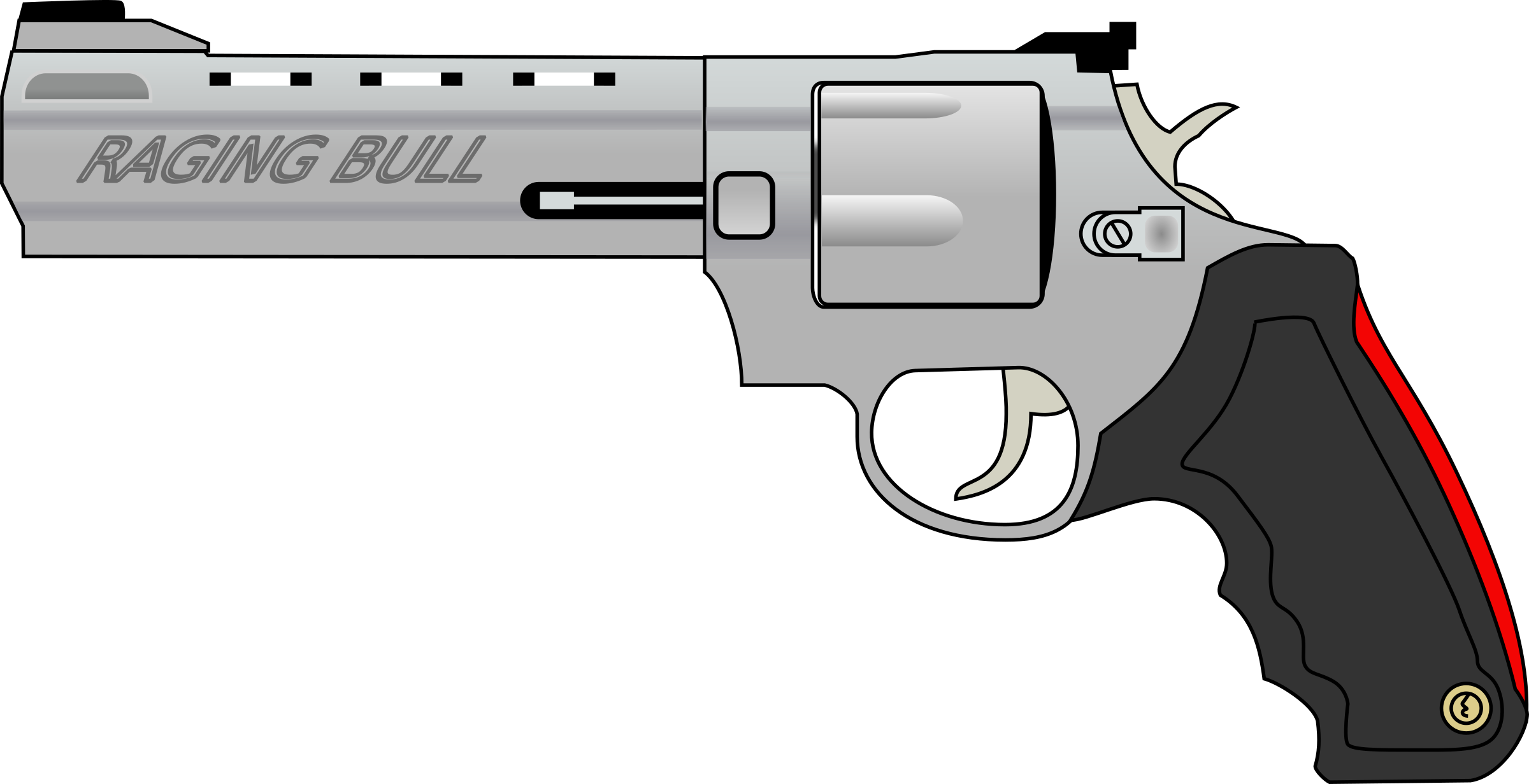Cartoon png transparent images. Clipart gun m1911