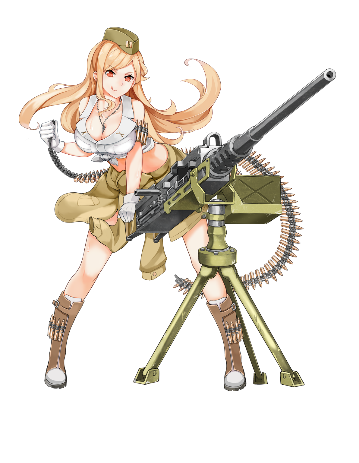 Clipart gun machine gun. M hb girls frontline