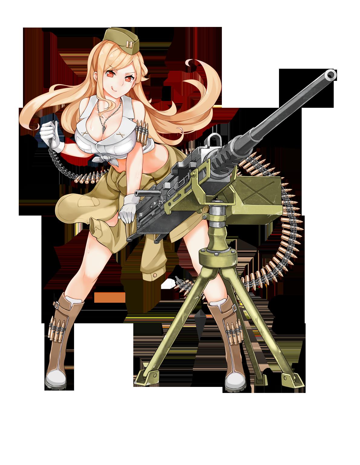 M hb girls frontline. Pistol clipart ww2 gun