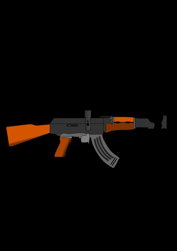 Free stock stockio com. Clipart gun machine gun