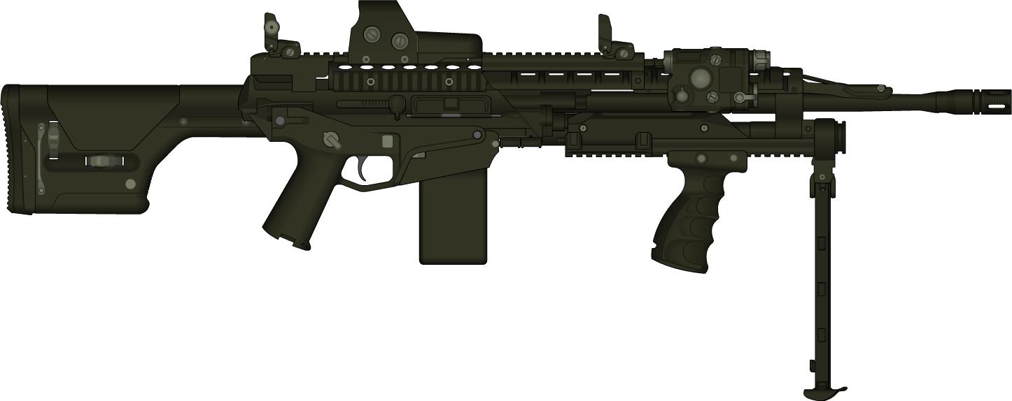 clipart gun machine gun