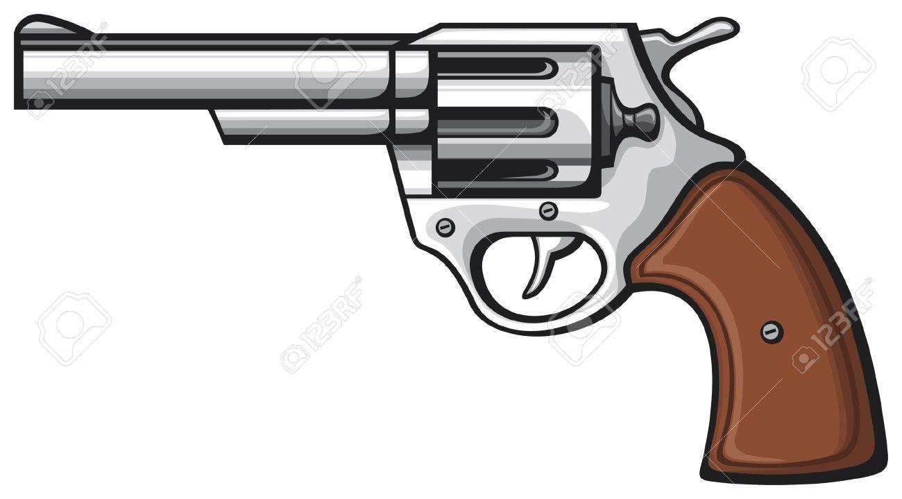 drawing free download. Clipart gun magnum