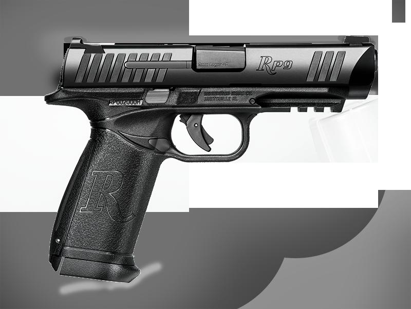 Rp remington . Gun clipart pistal