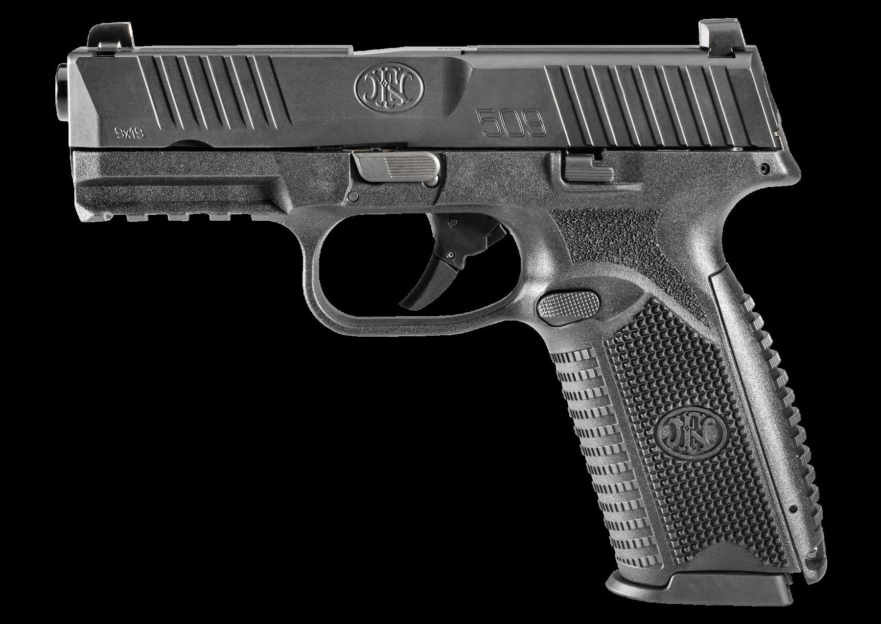 Firearm pistol shooting range. Clipart gun magnum