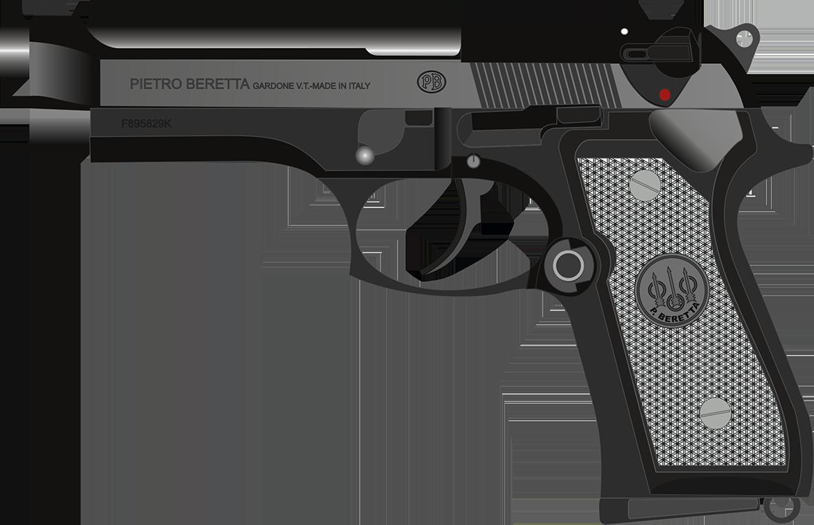 Clipart gun magnum.  beretta fs mm