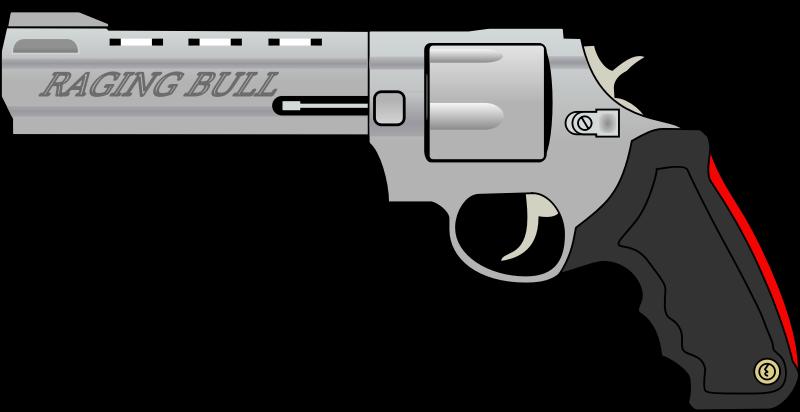 Raging bull clip art. Clipart gun military gun