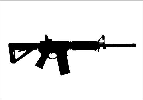 Clipart gun military gun. Create your proud design
