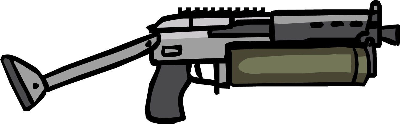 Bizon strike force heroes. Clipart gun minigun