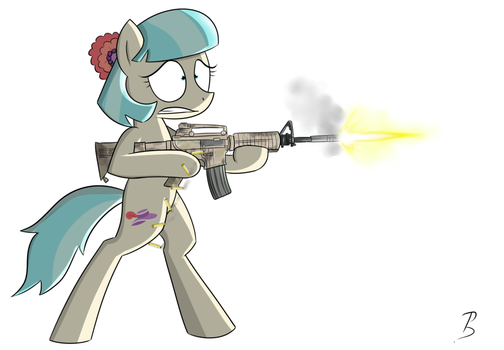 Clipart gun minigun. Cutie with by pandramodo
