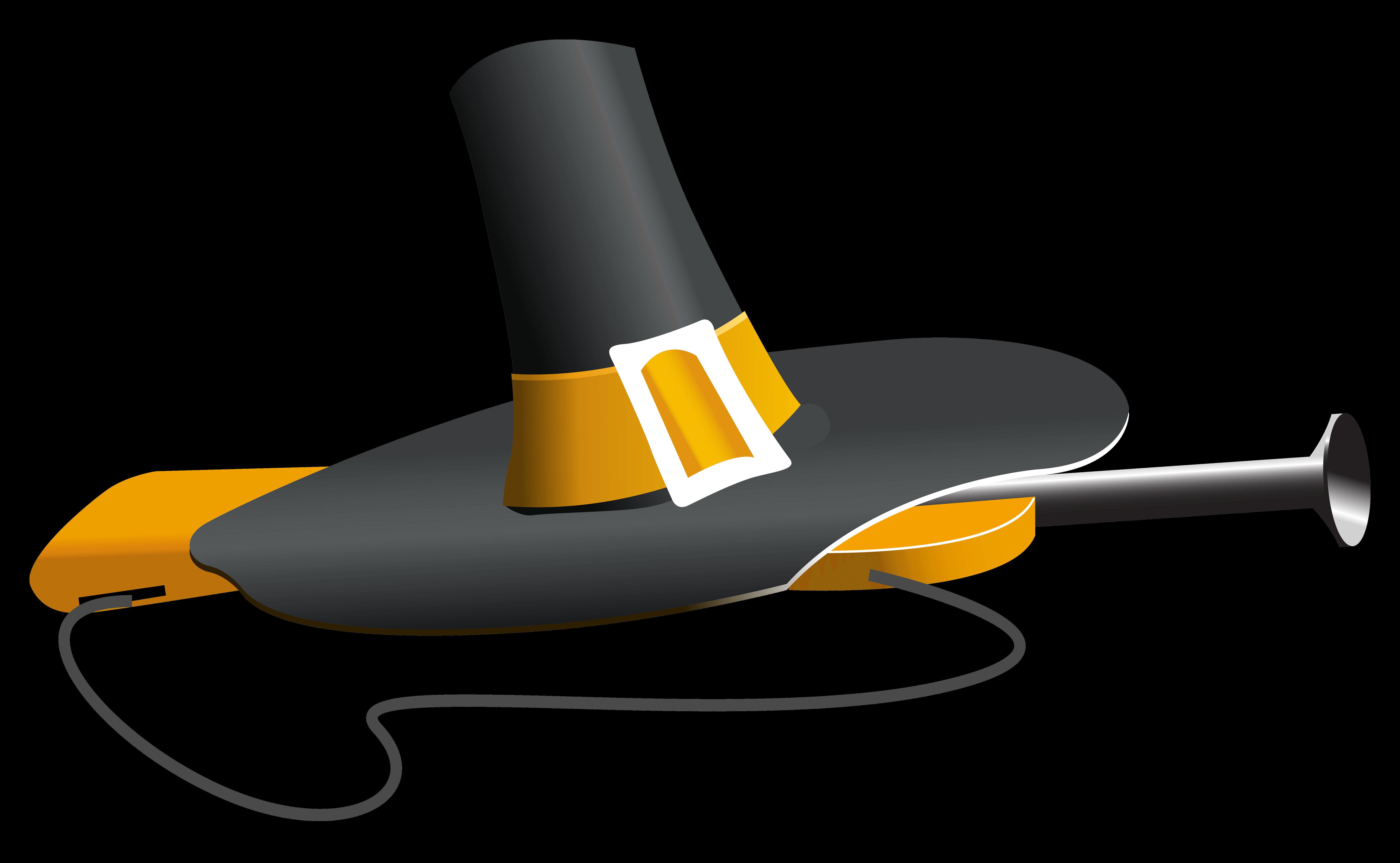 Clipart gun musket. Cliparts zone pilgrim hat