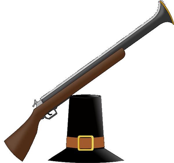 Shotgun clip art at. Clipart gun musket