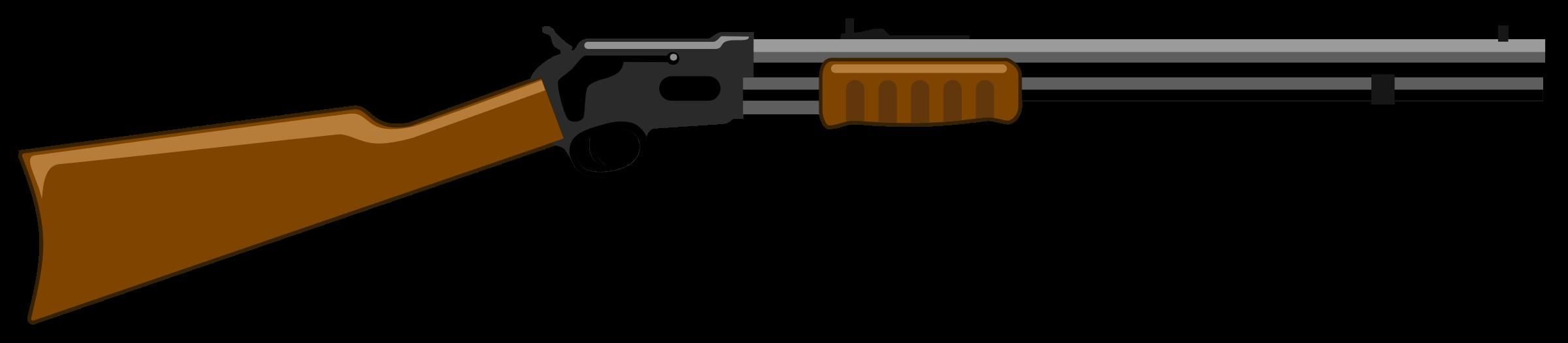Rifle. Clipart gun pdf