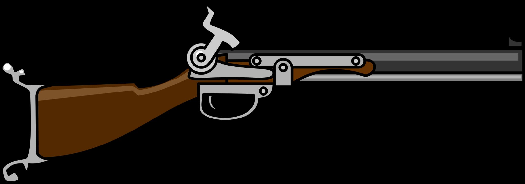 Barrel shotgun ranged weapon. Clipart gun pdf