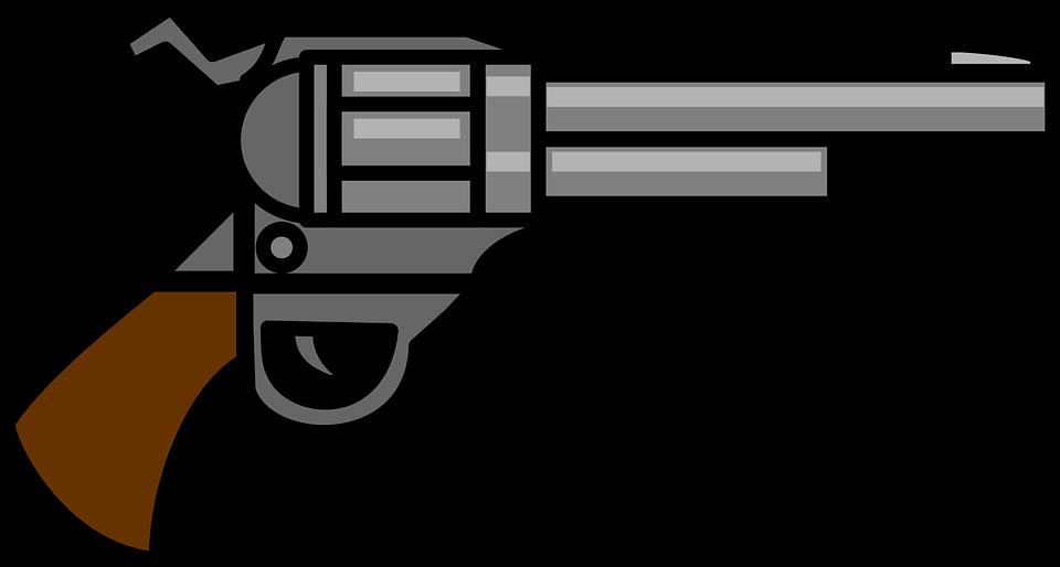 Silhouette clip art at. Clipart gun person