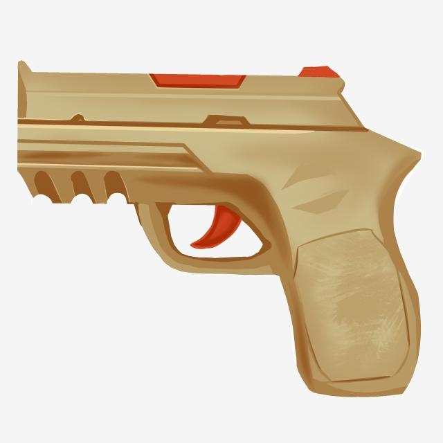 Clipart gun police. Weapon pistol illustration supplies