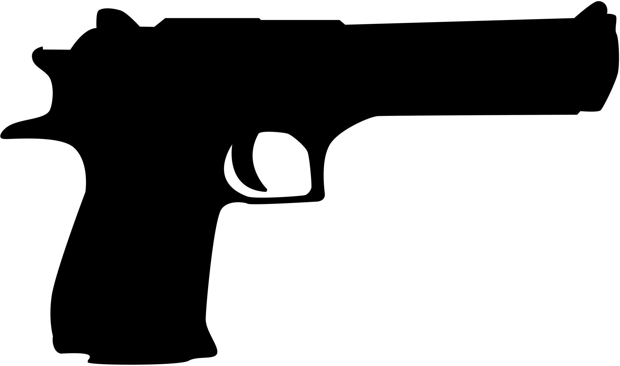 Black and white free. Clipart gun police