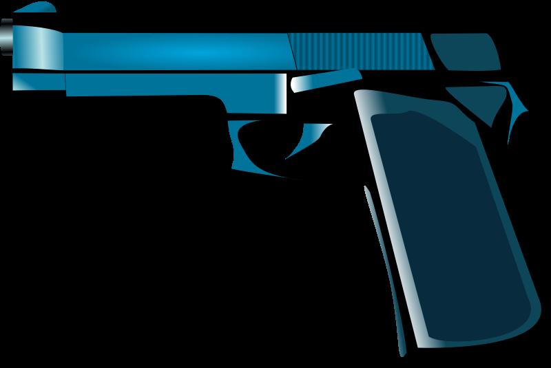 Clipart gun policeman. Medium image png