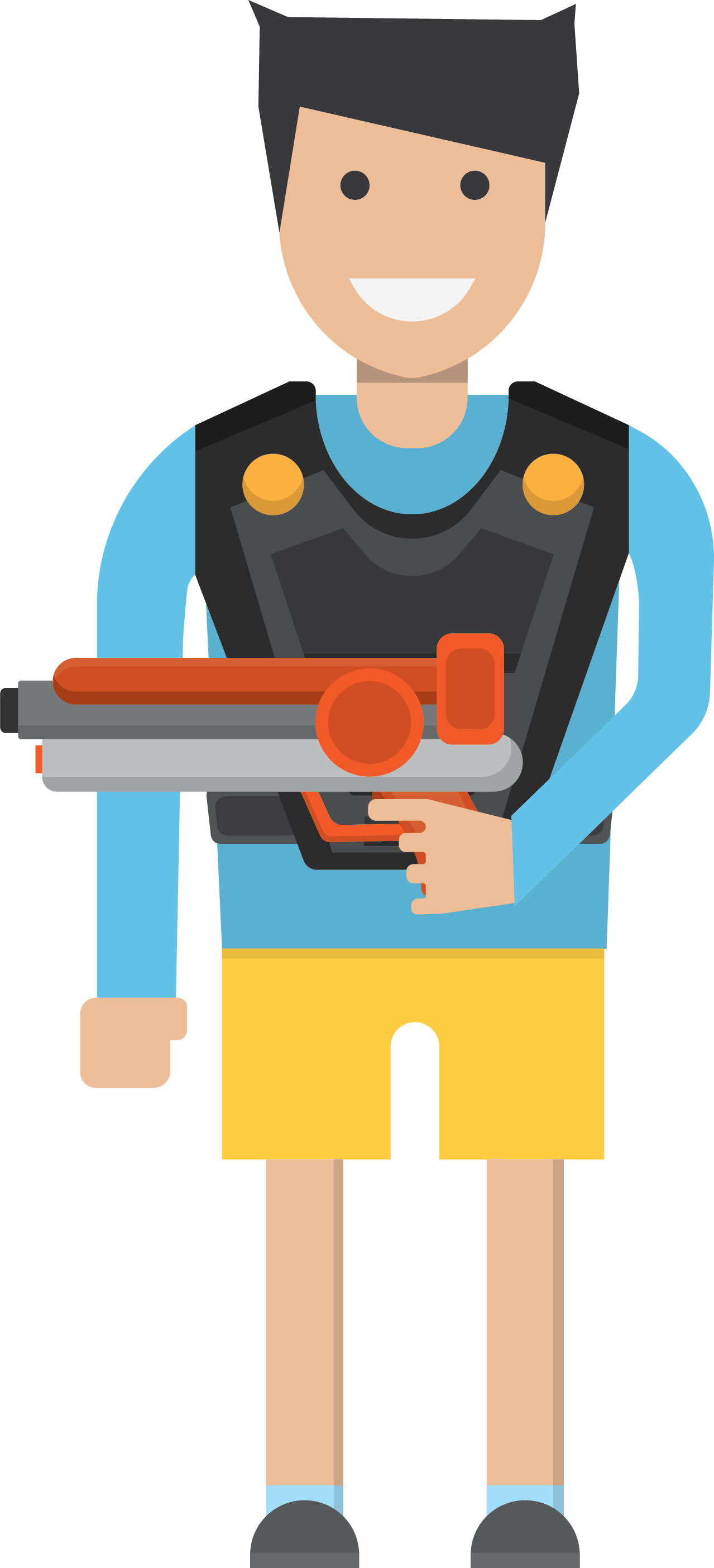 Download the carried a. Clipart gun policeman