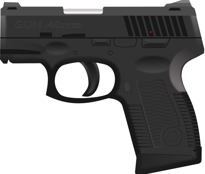 pistol huge freebie. Clipart gun policeman