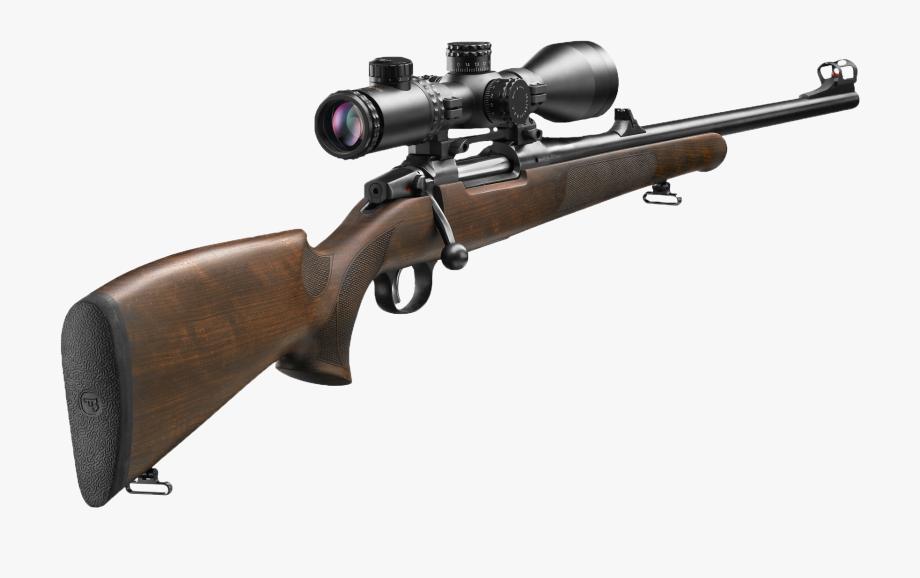 Clipart gun real gun. Shot cz rifle free