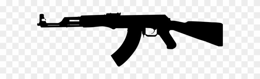 Ak free transparent png. Clipart gun real gun