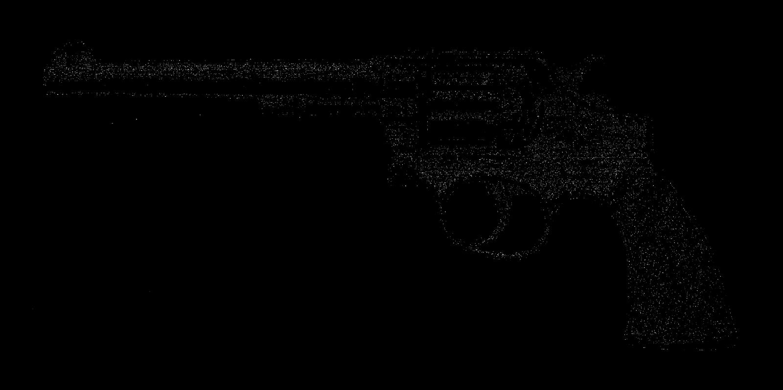 Digital stamp design antique. Clipart gun revolver