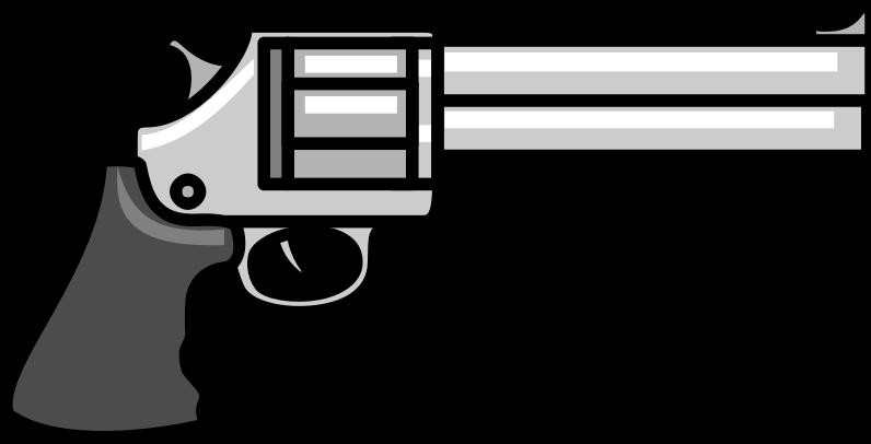 Clipart gun revolver. Medium image png