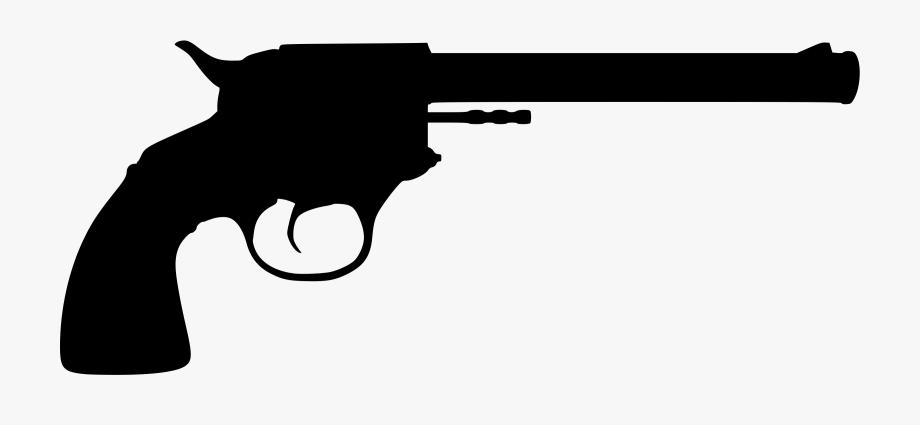 Cliparts for free silhouette. Clipart gun revolver