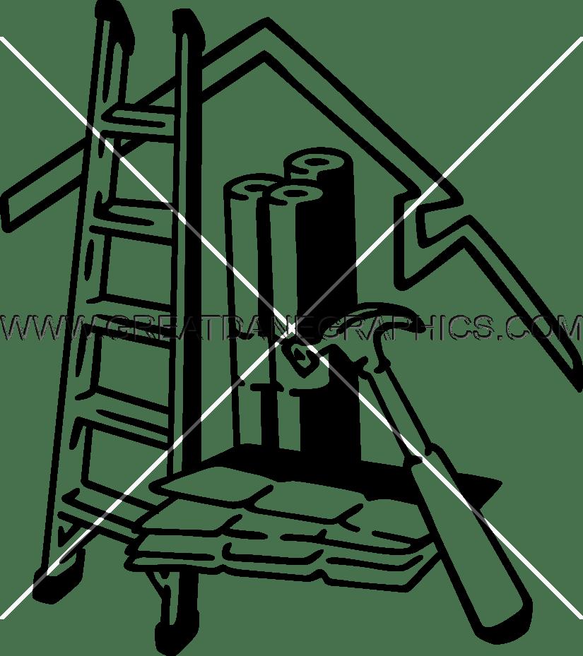 Clip art best image. Clipart gun roofing