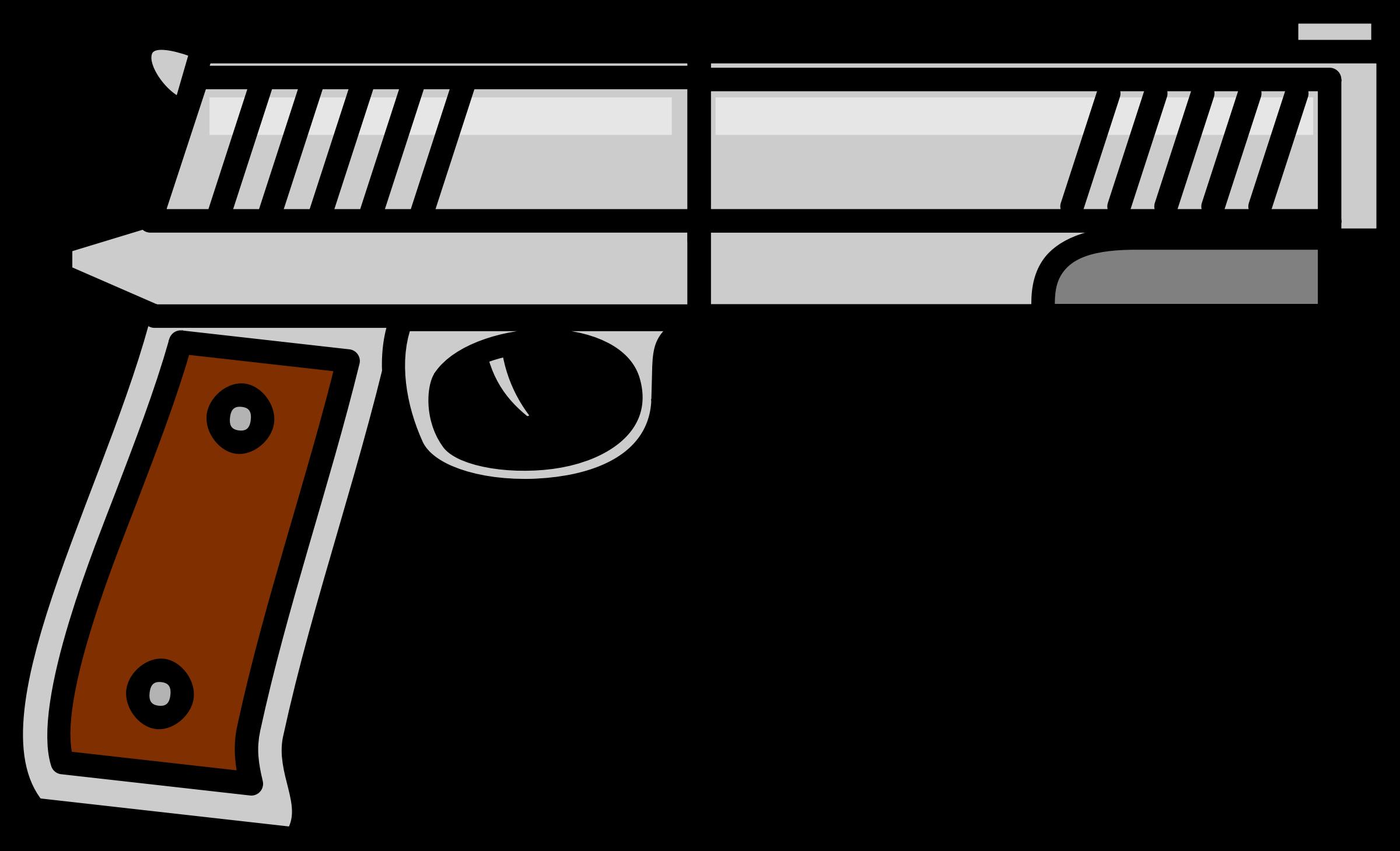 Firearms gun . Guns clipart revolver