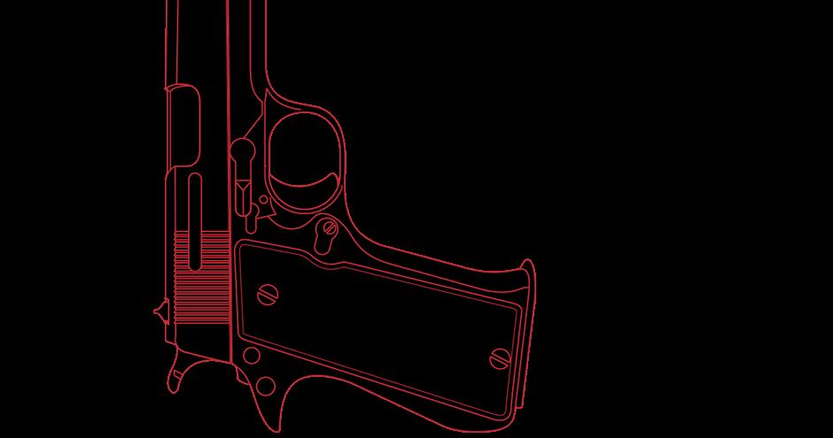 Gun crime shootings in. Knife clipart violence