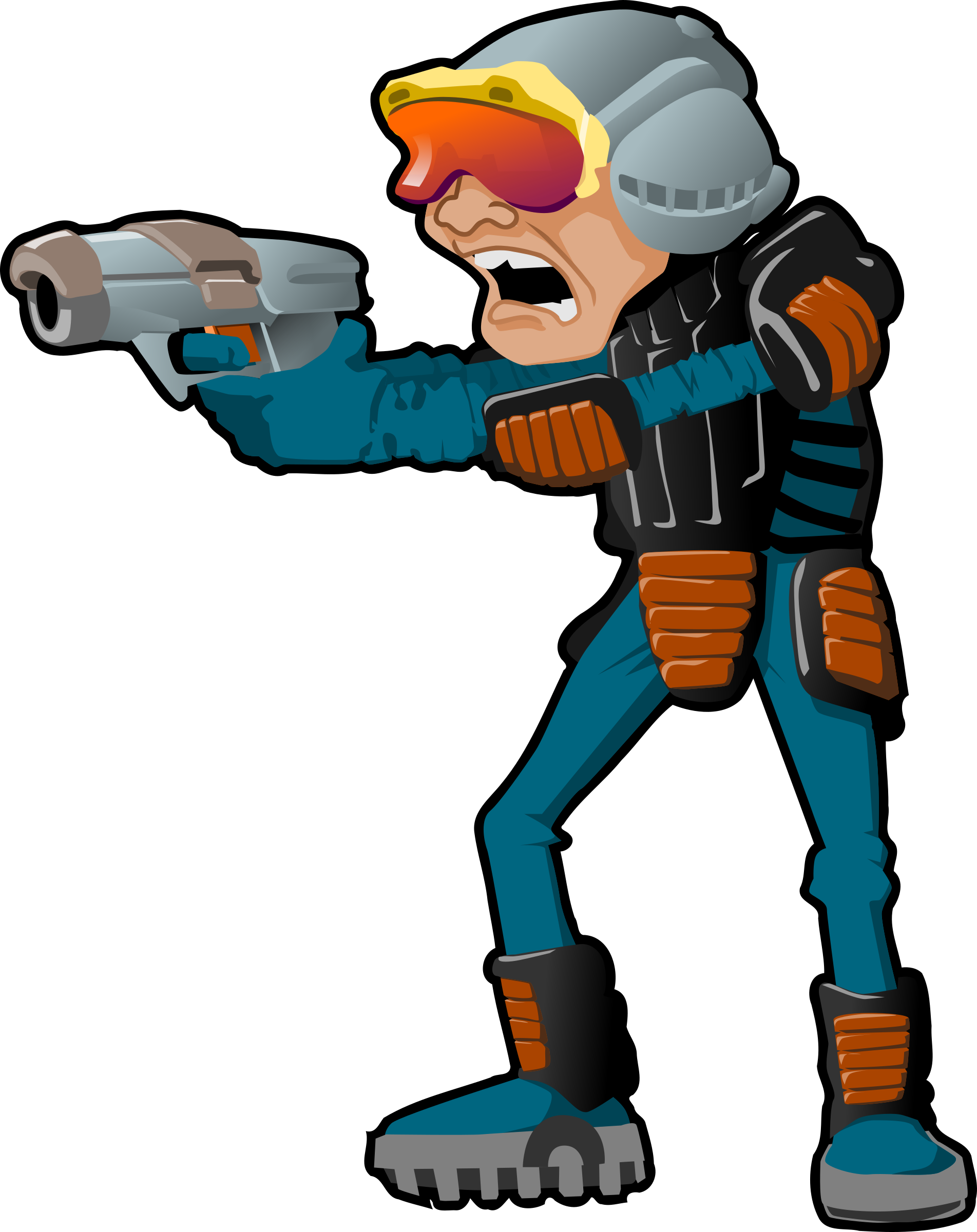 Stop right there big. Guns clipart sci fi