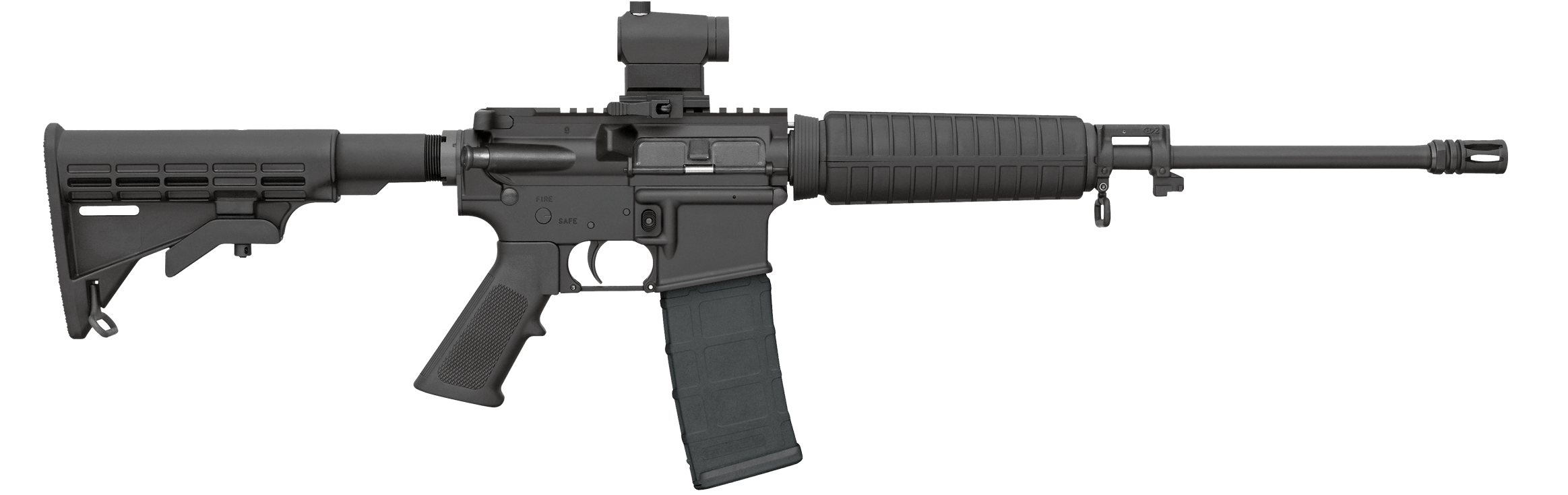 Hunter clipart gun drawing. Bushmaster xm qrc w