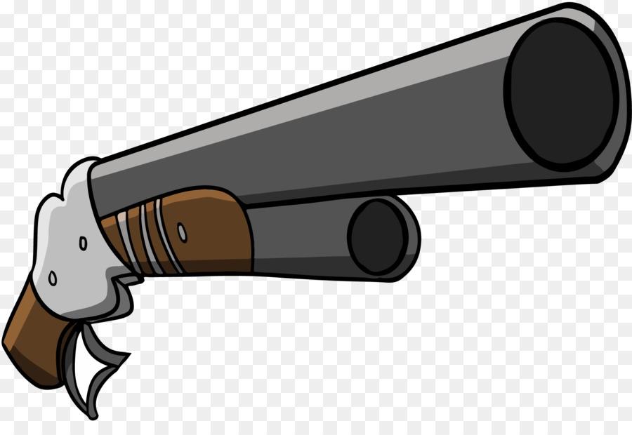 Cartoon drawing product transparent. Clipart gun shotgun